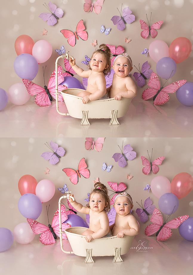 babyfotos Badewanne