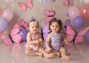 Zwillinge-fotoshooting