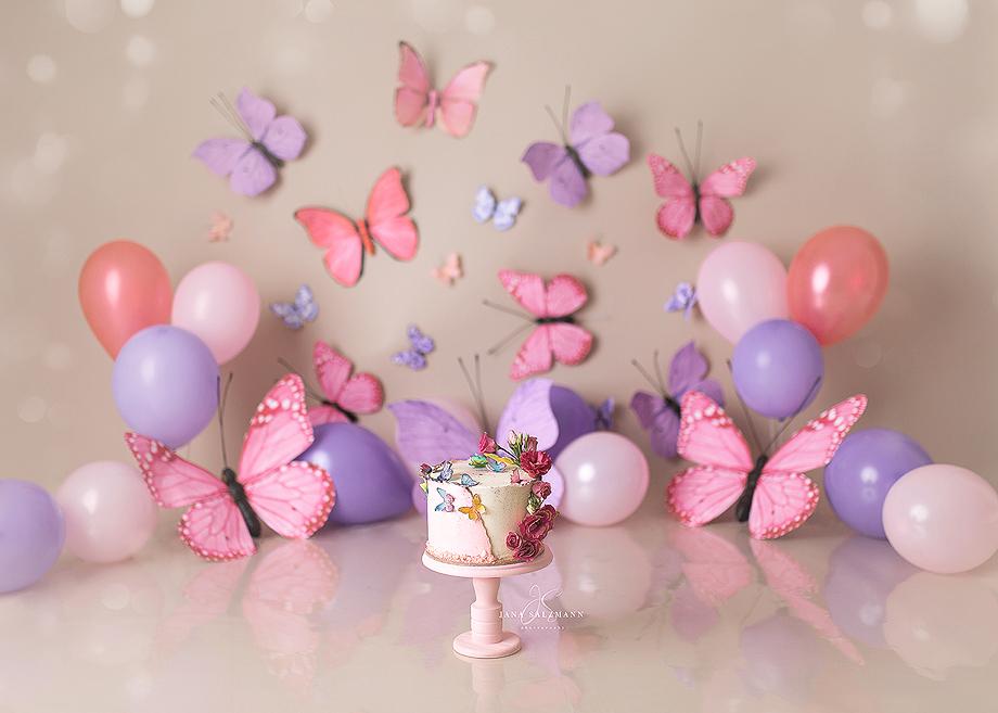 Kindertorte Schmetterling