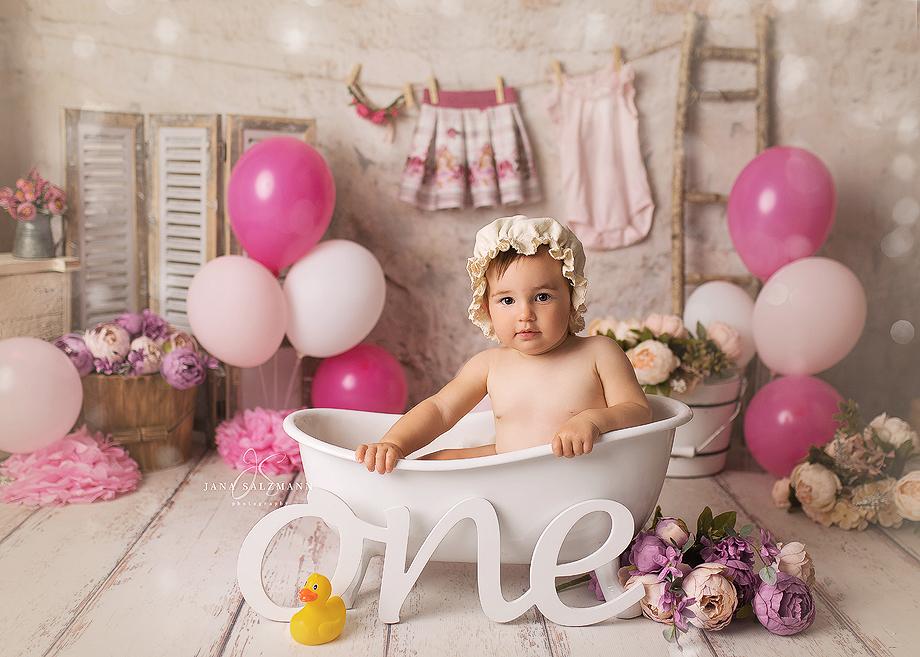 Badewanne baby shooting