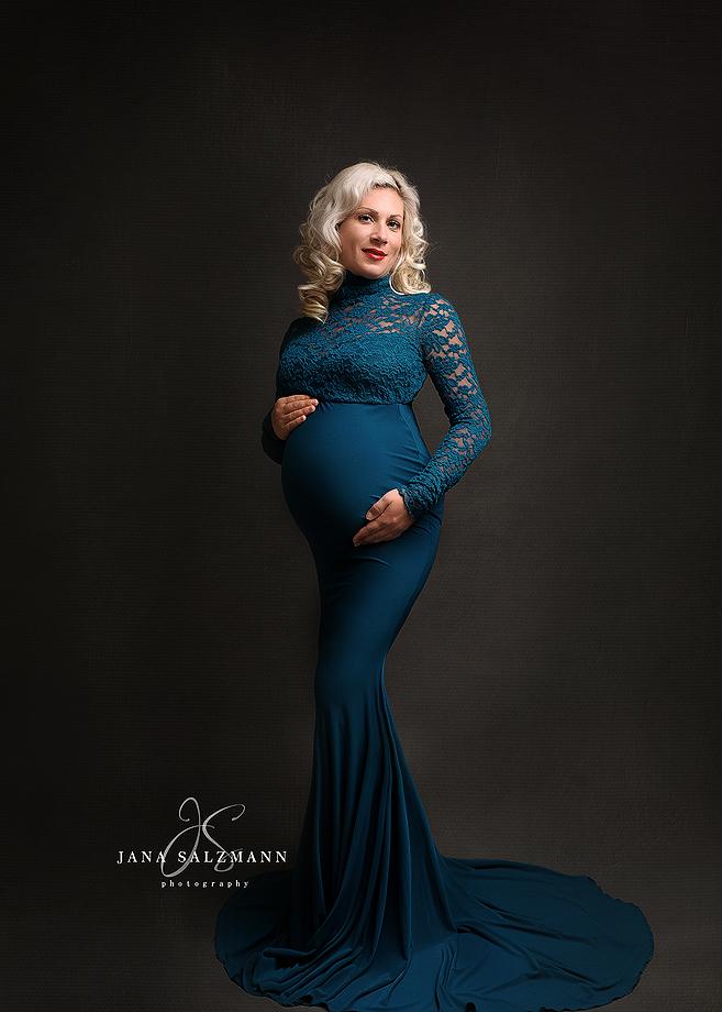 schwangerschaftsshooting kleid
