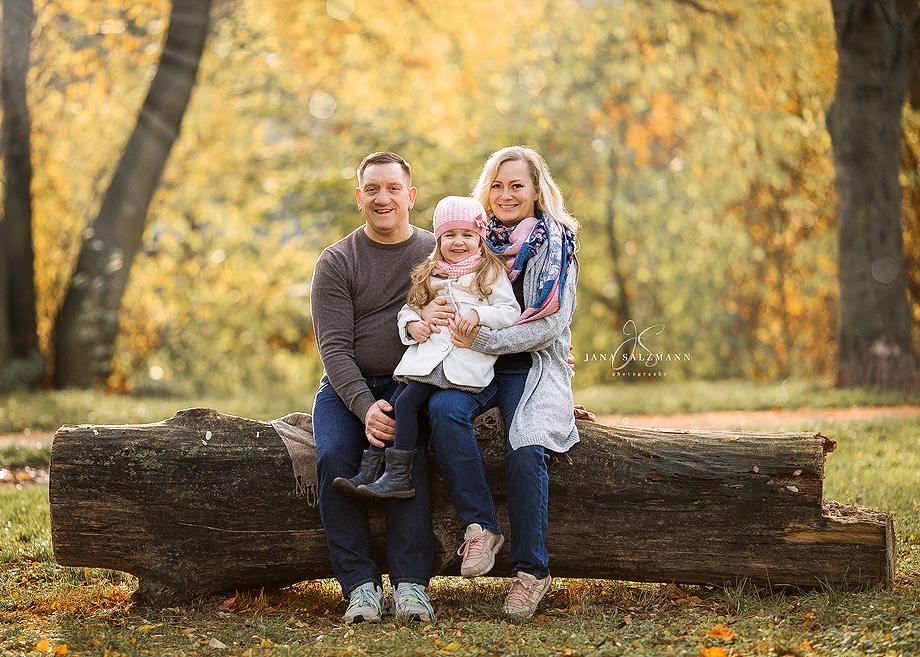 familienbild Herbst