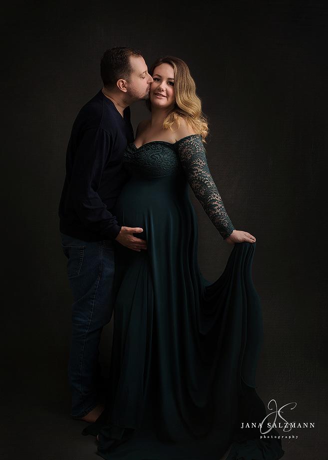 Schwangerschaftsbilder mit Partner