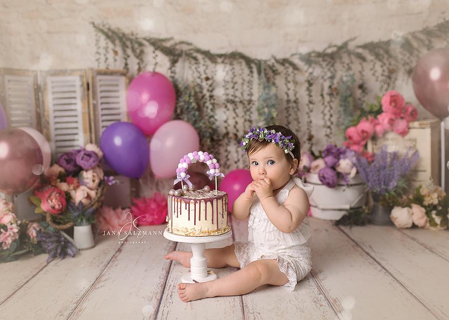 cake smash Mädchen