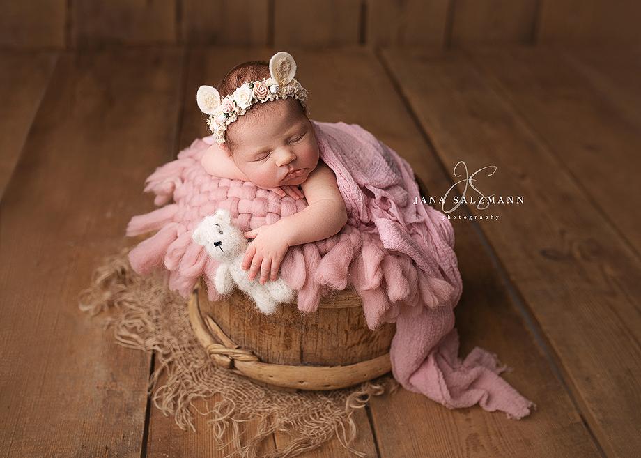 baby blumen Fotografie