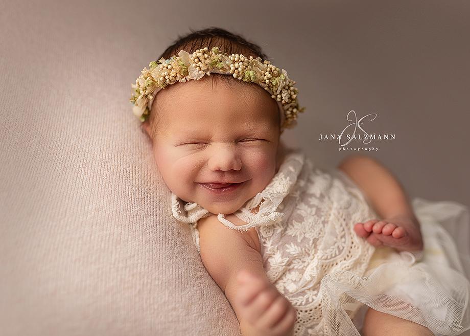 lächelndes baby